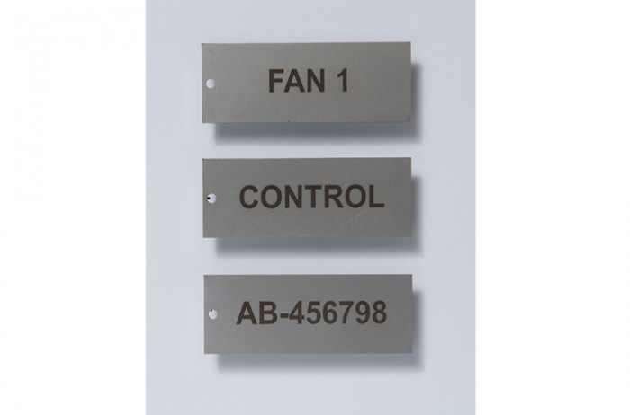 Engraved Stainless Steel Tags
